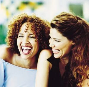 two-women-laughing